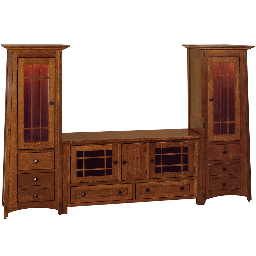 McCoy TV Cabinet With Optional Tower Cabinets