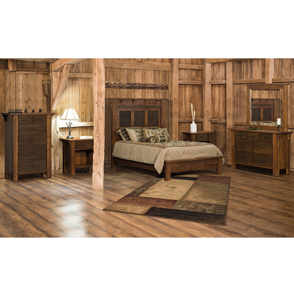 Rustic Bedroom Set Handmade Master Bedroom Furniture Set