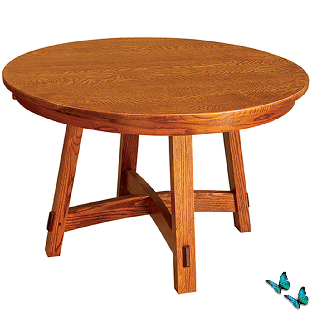 Small Round Dining Table Amish Dining Room Table Kitchen Table Extendable Dining Table Mission