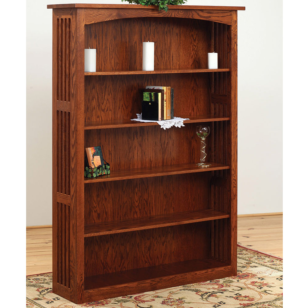 Jd S Amish Bookcase Amish Office Furniture Cabinfield