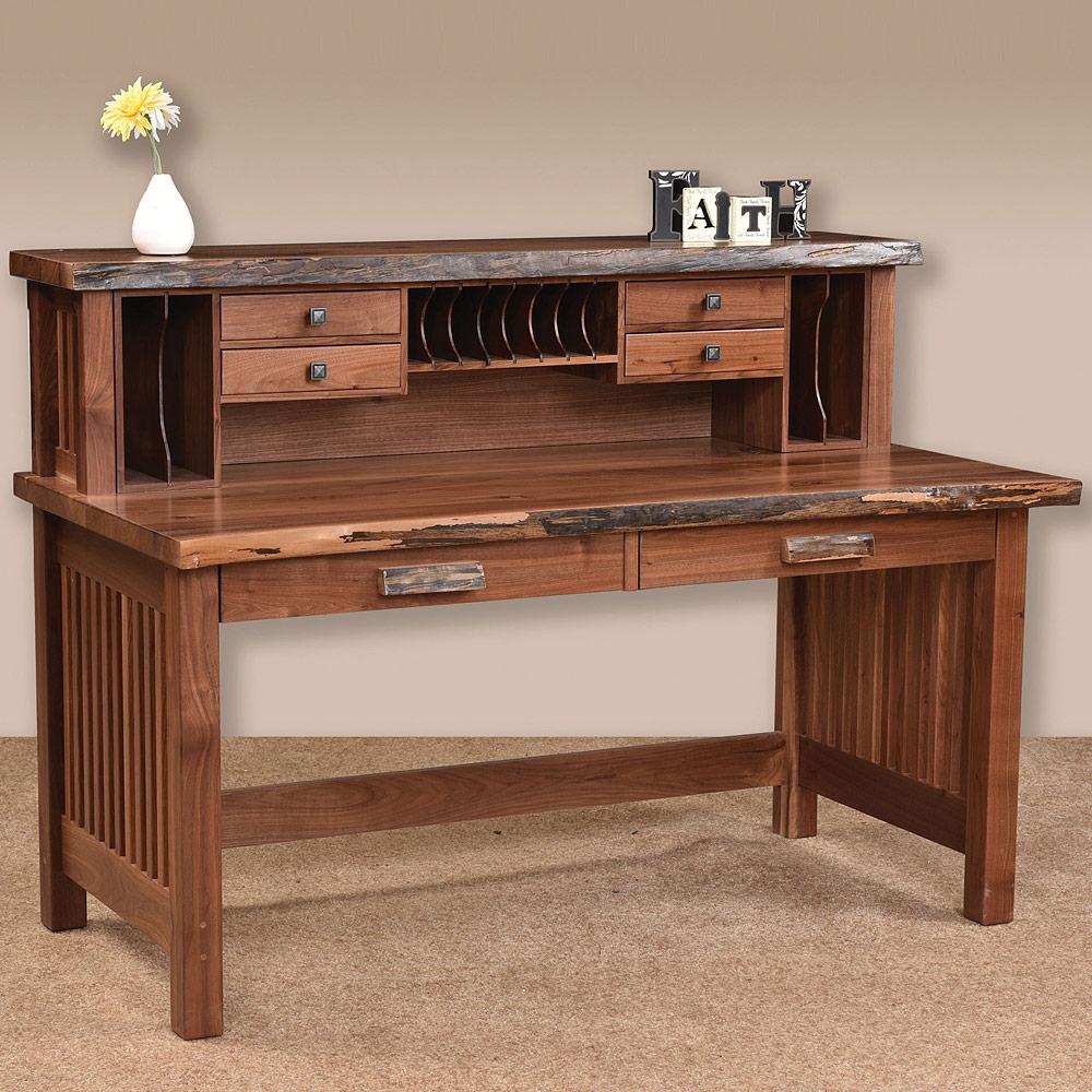 Jd S Rustic Desk Hutch Option