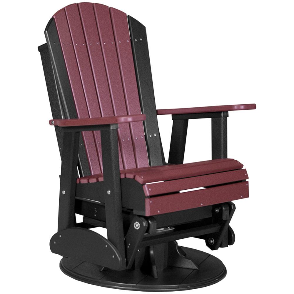 Swivel Glider Chair Outdoor Rocking Chair Porch Rocker Glider Ottoman Outdoo