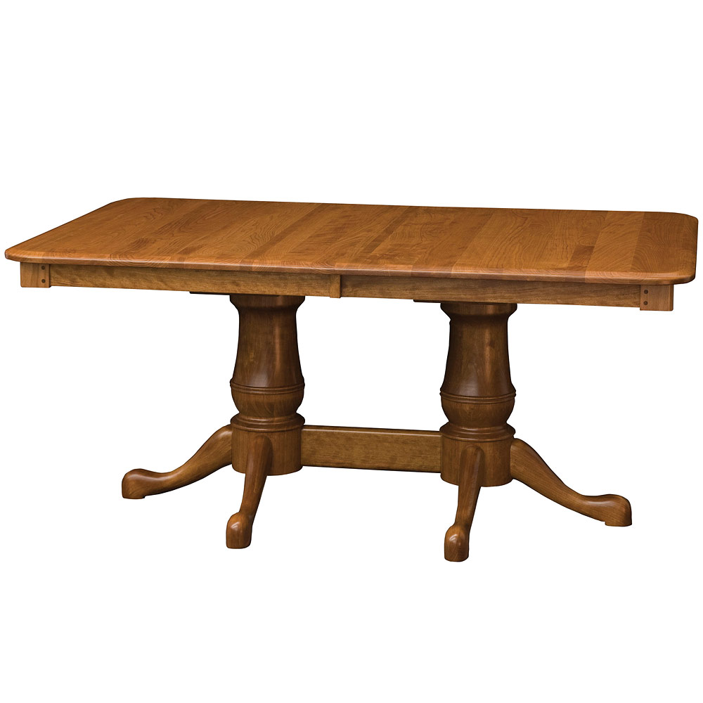 Newbridge amish dining room table amish dining table for Dining room tables amish
