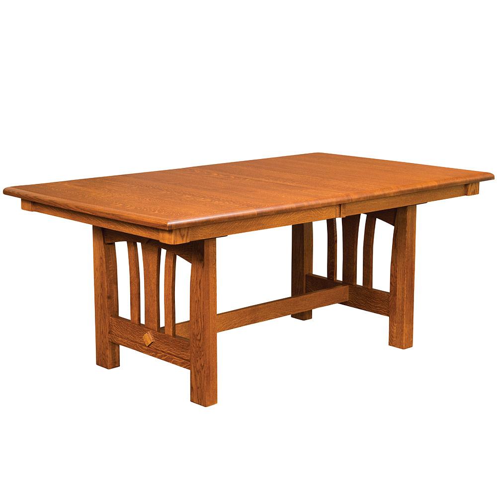 Mondovi Trestle Amish Kitchen Table