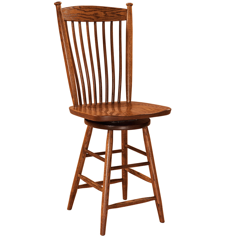 Easton shaker amish dining chairs amish furniture for Dining room tables easton