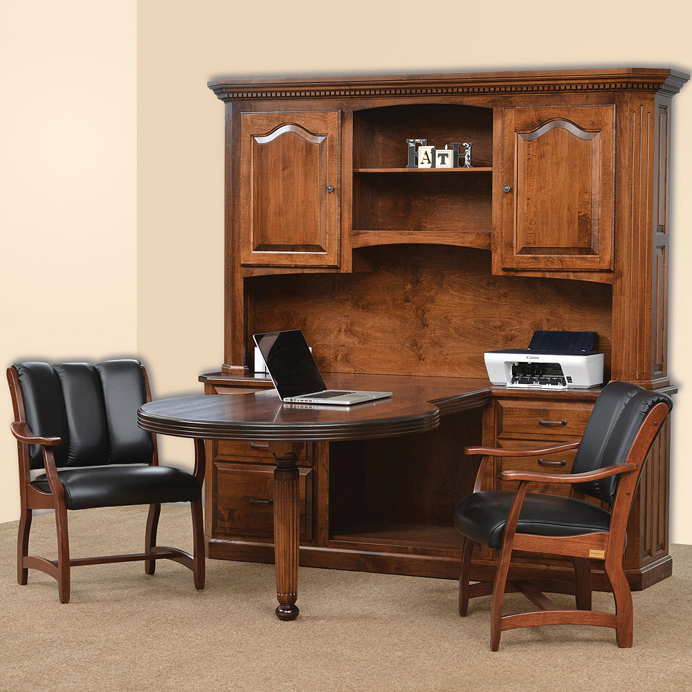 Fifth avenue conference amish desk amish furniture for Furniture 5th avenue