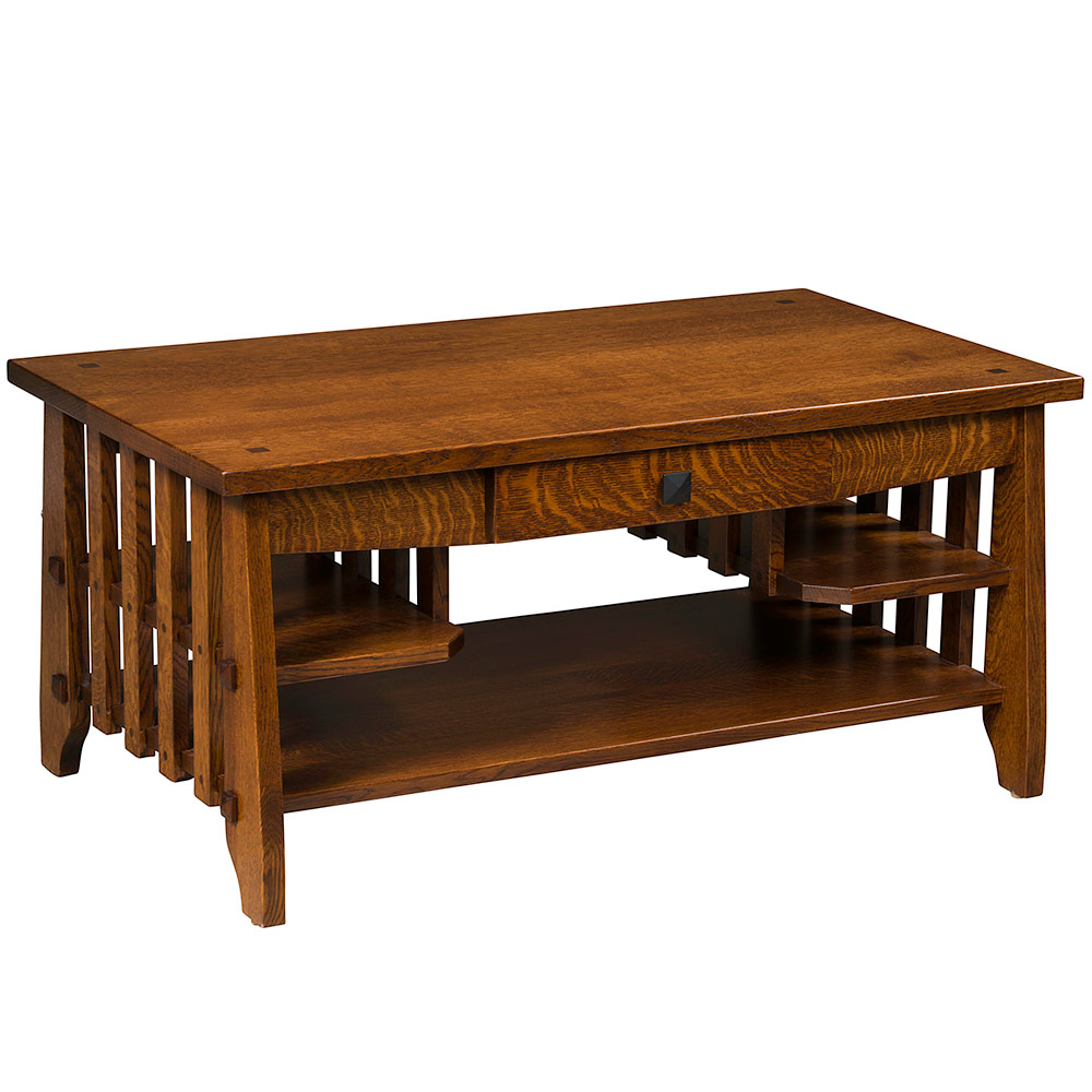 Charmant Stick Mission Amish Coffee Table