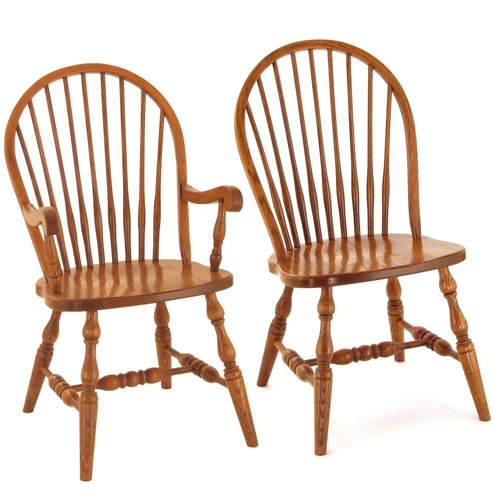 Spindle Amish Dining Chairs Amish Traditional Furniture Cabinfield Fine Furniture