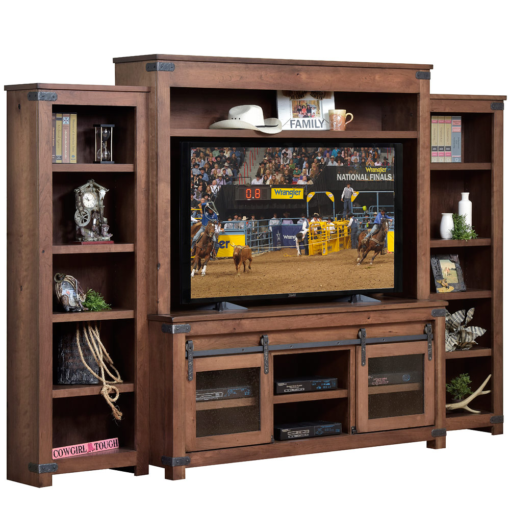 Georgetown Amish Entertainment Center Tv Stands Cabinfield Fine Furniture