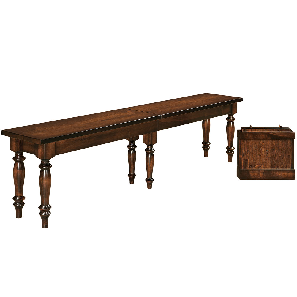 Harvest Amish Bench Amish Dining Room Furniture Cabinfield Fine Furniture