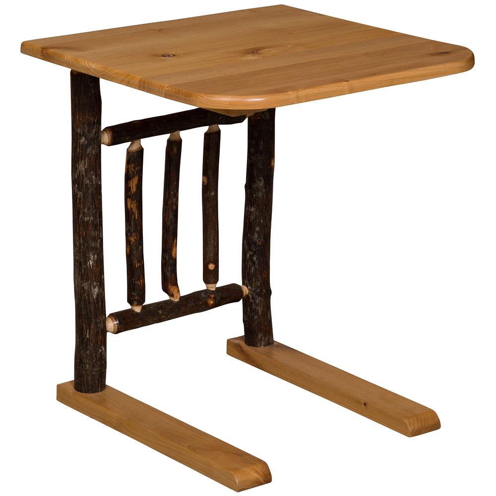 Hickory Amish Sofa Server Table