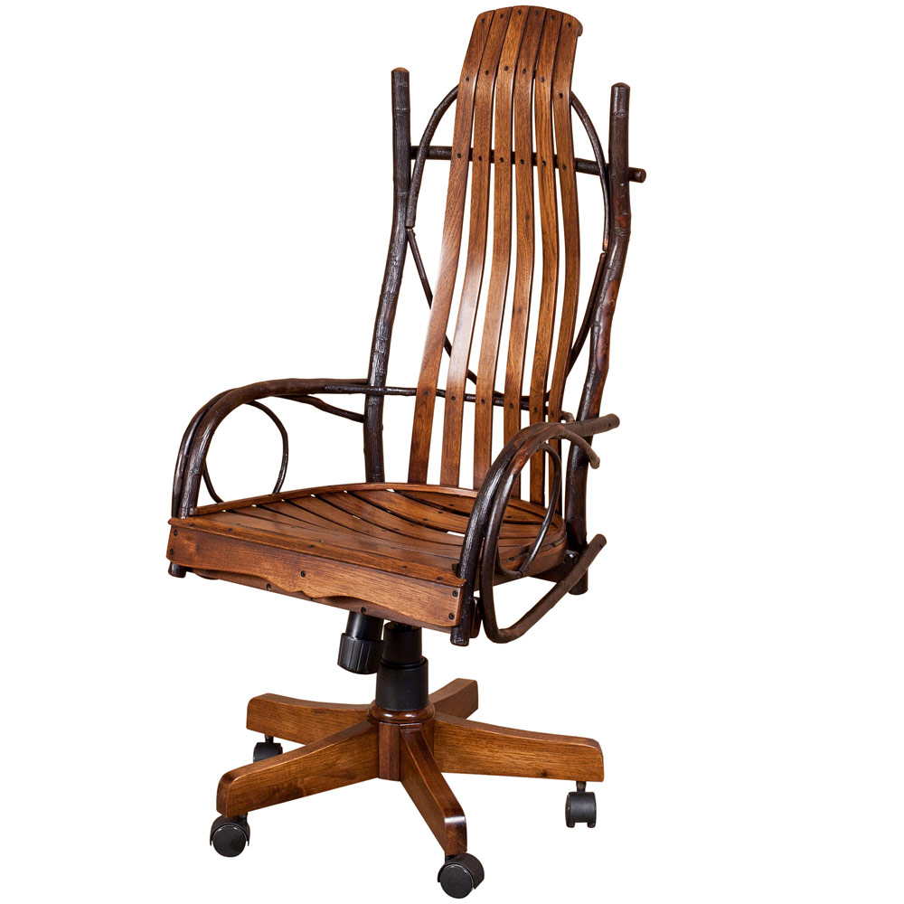 Allegheny Bentwood Amish Desk Chair