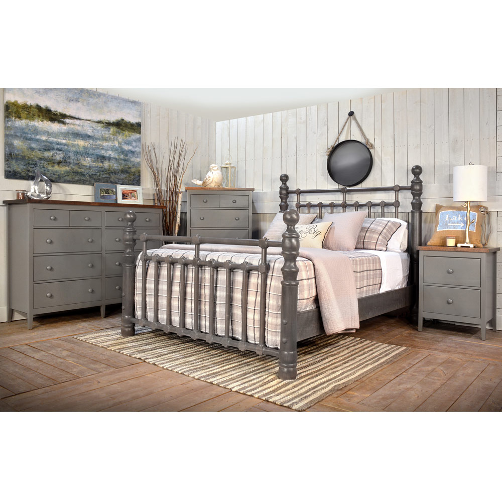 Stone Cottage Amish Bedroom Furniture Set - Amish Bed ...