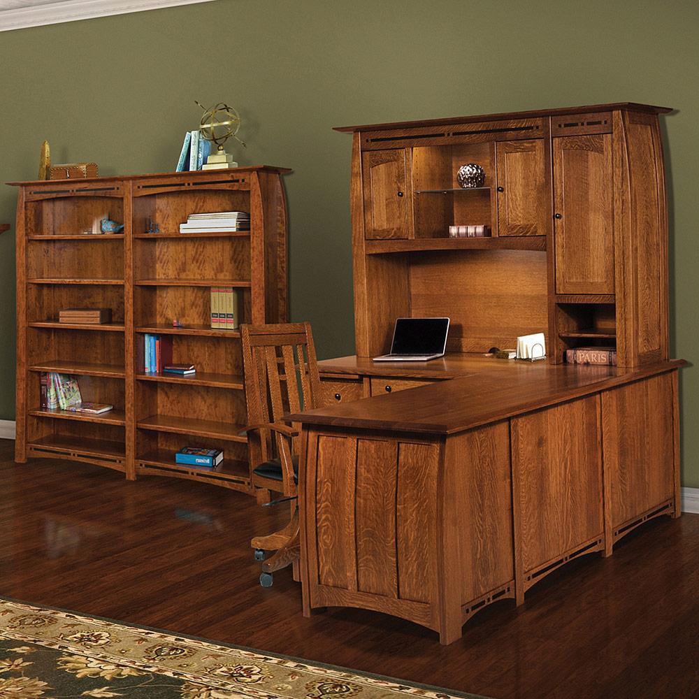 Boulder Creek Amish Credenza Amish Office Furniture