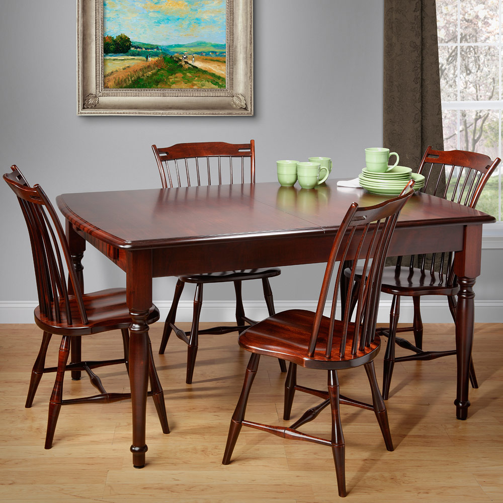 Brilliant Cleveland Amish Dining Table Set Beutiful Home Inspiration Aditmahrainfo