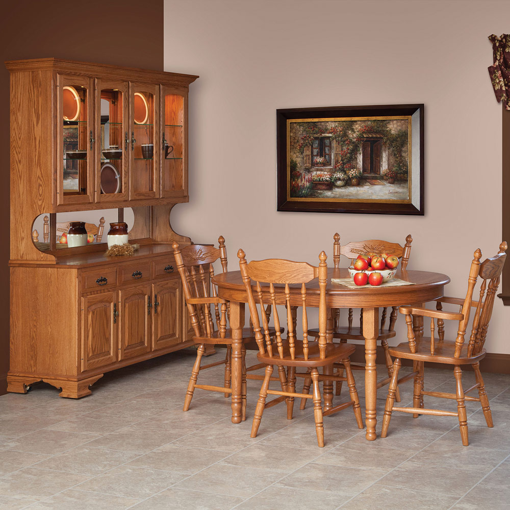 Country Harvest Amish Dining Room Set