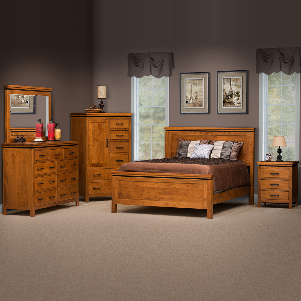Enjoyable Richmond Amish Bedroom Furniture Set Home Interior And Landscaping Pimpapssignezvosmurscom