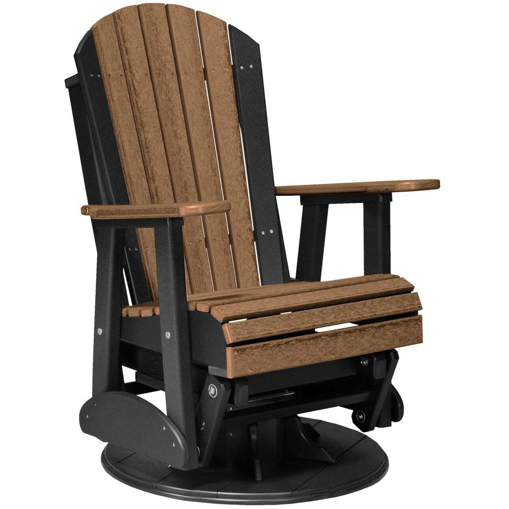 Swivel Glider Chair Outdoor Rocking Chair Porch Rocker