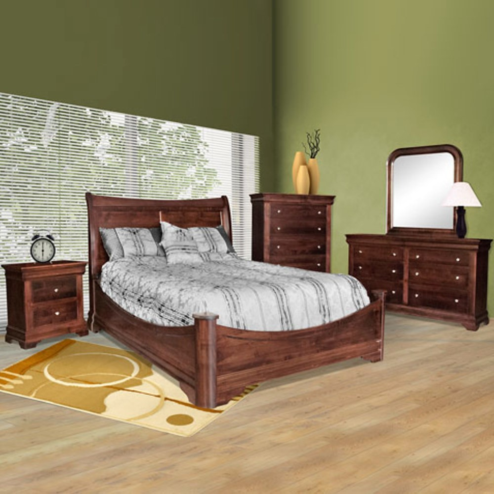 Modern Contemporary Bedroom Furniture Set:Contemporary Modern Solid ...