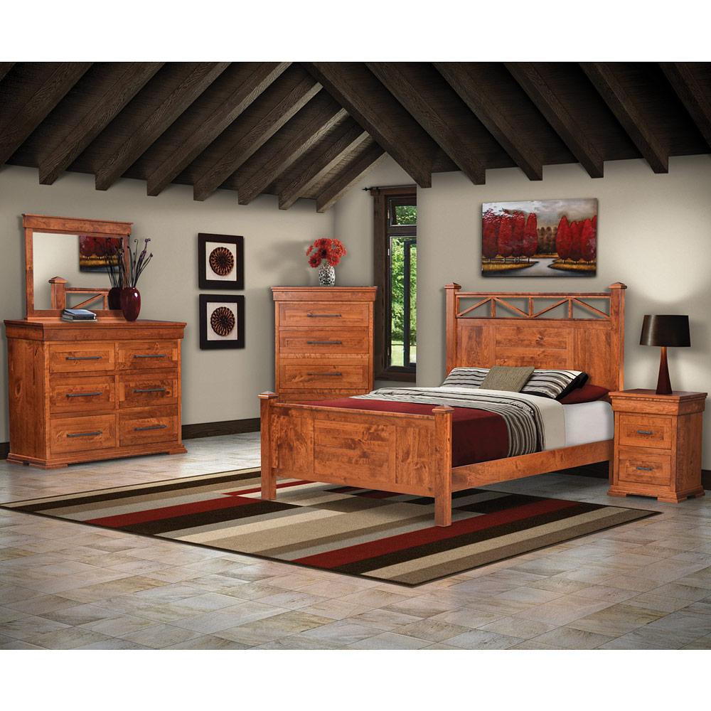 Bridgeport Amish Bedroom Furniture Set