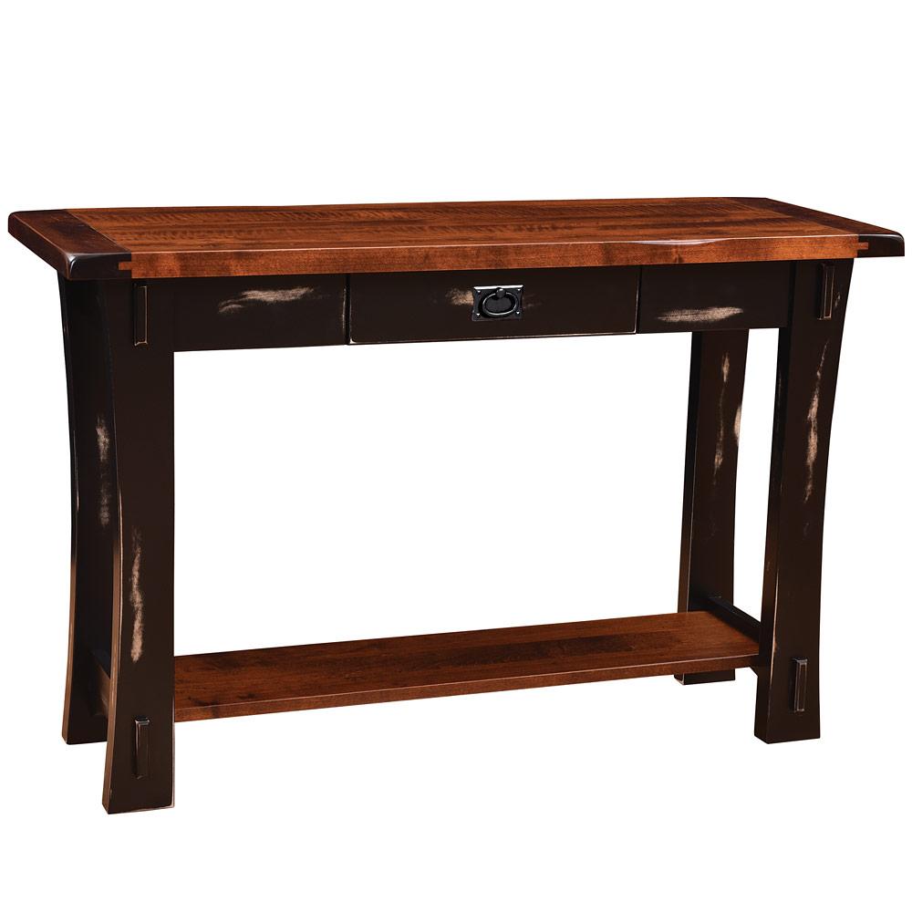 Old Tyme Amish Sofa Table