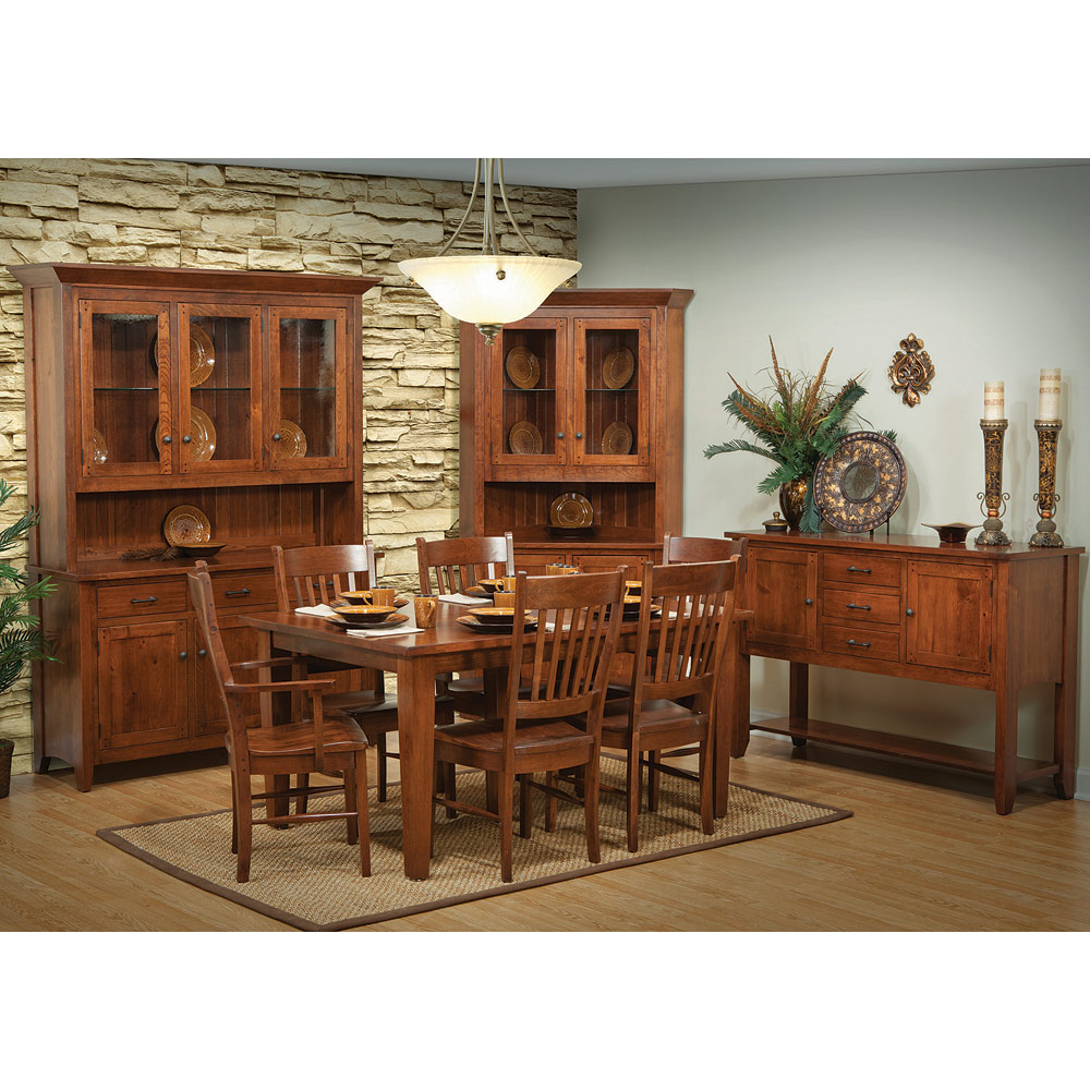 Frontier Amish Dining Room Set - Amish Dining Table Set ...