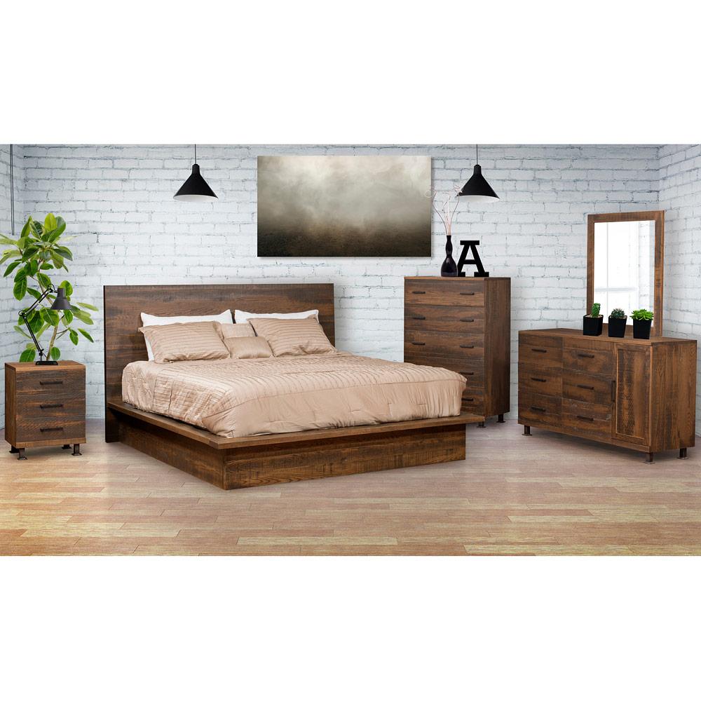 Hamilton Amish Bedroom Set