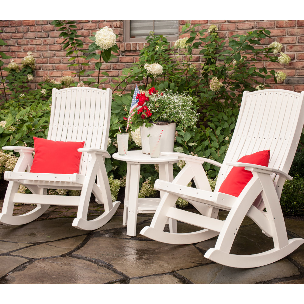 Poly Amish Outdoor Rocking Chair