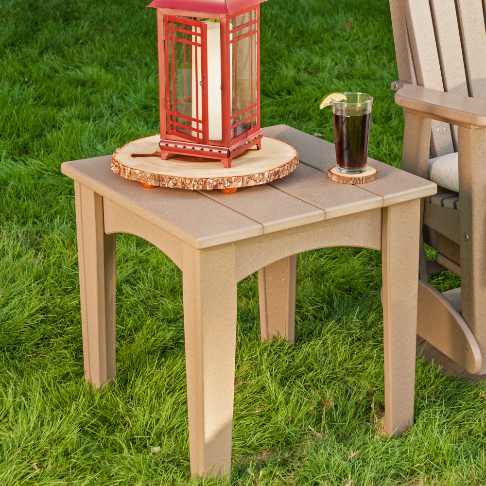 Island Outdoor Amish End Table Handmade Amish Tables Cabinfield
