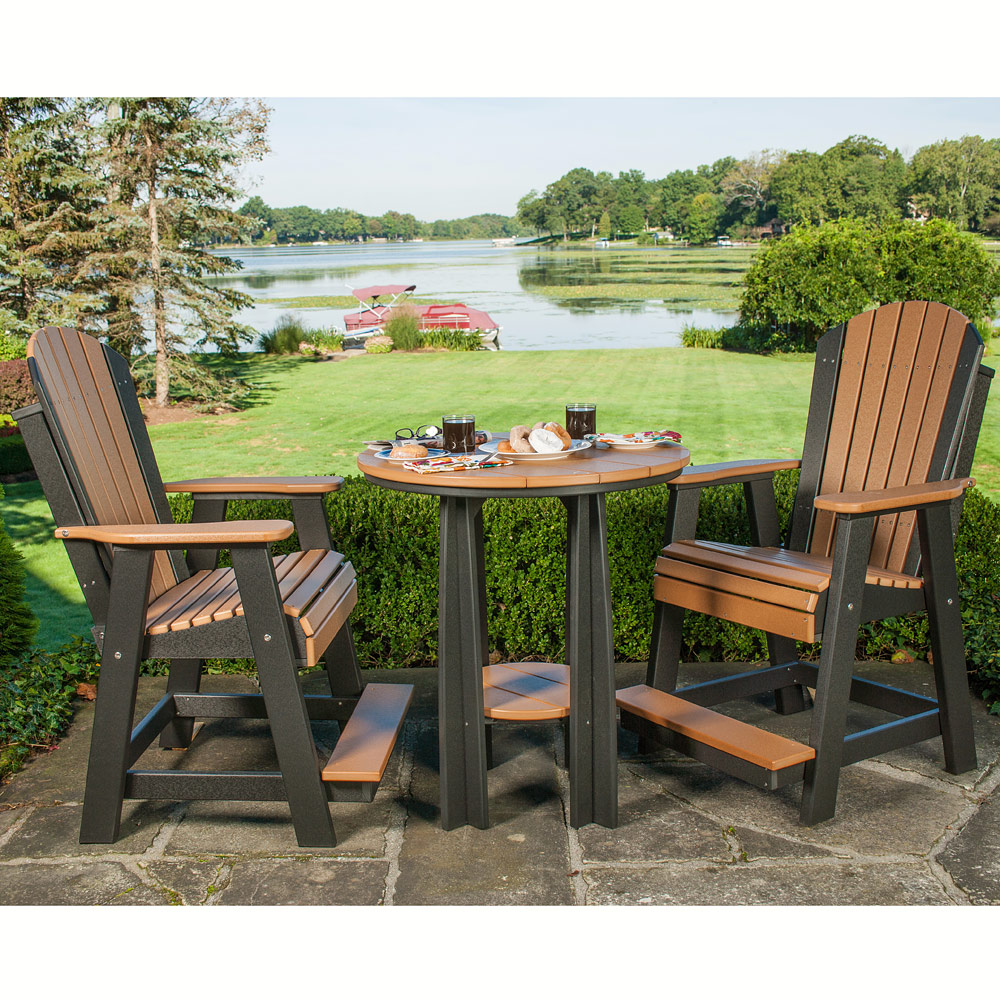 Champlain Amish Patio Table and Chairs