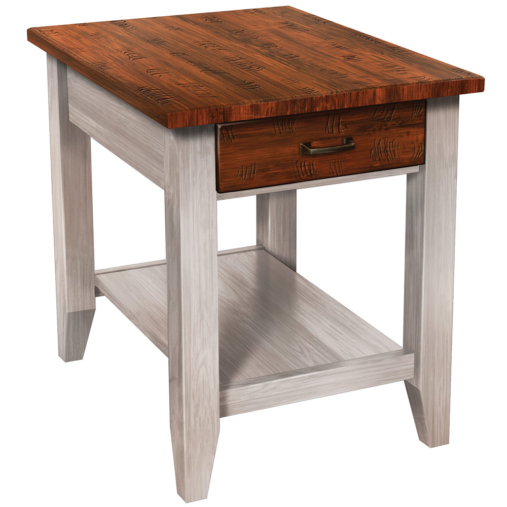 Concepts Amish End Table