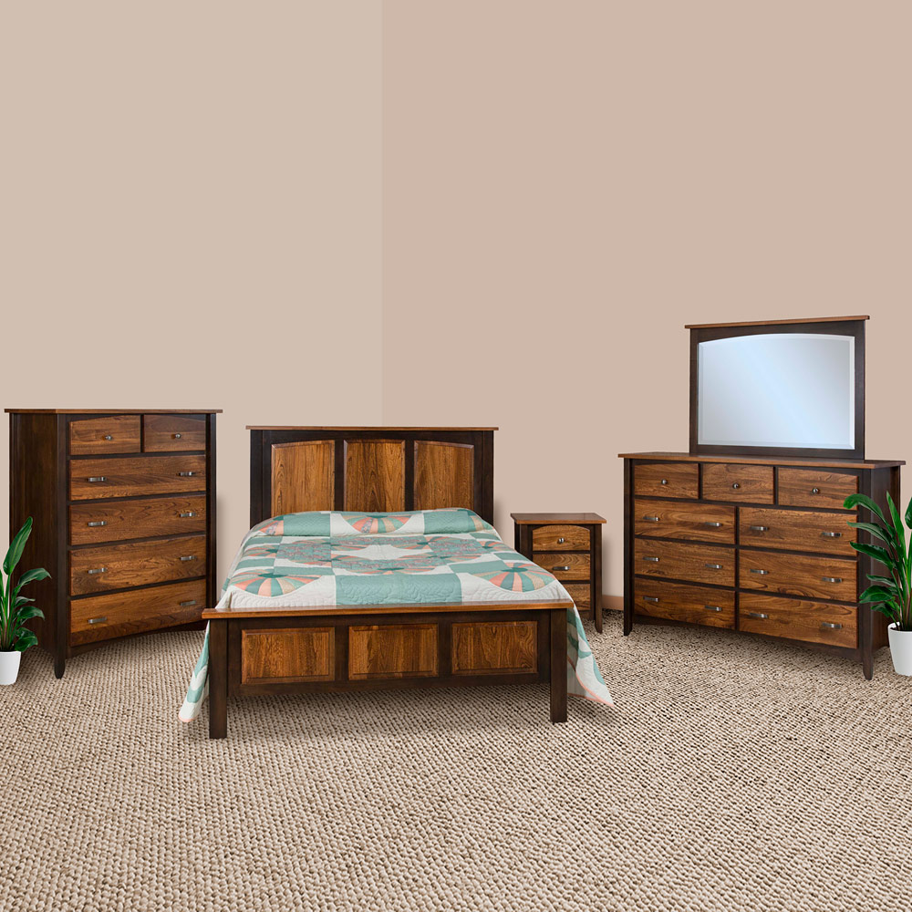 Incredible Rising Sun Amish Bedroom Furniture Set Home Interior And Landscaping Pimpapssignezvosmurscom