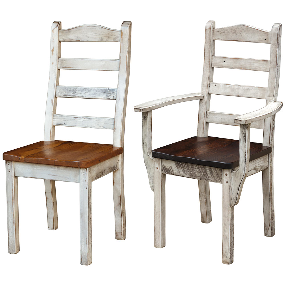 Fabulous Croft Ladderback Amish Dining Chairs Download Free Architecture Designs Grimeyleaguecom