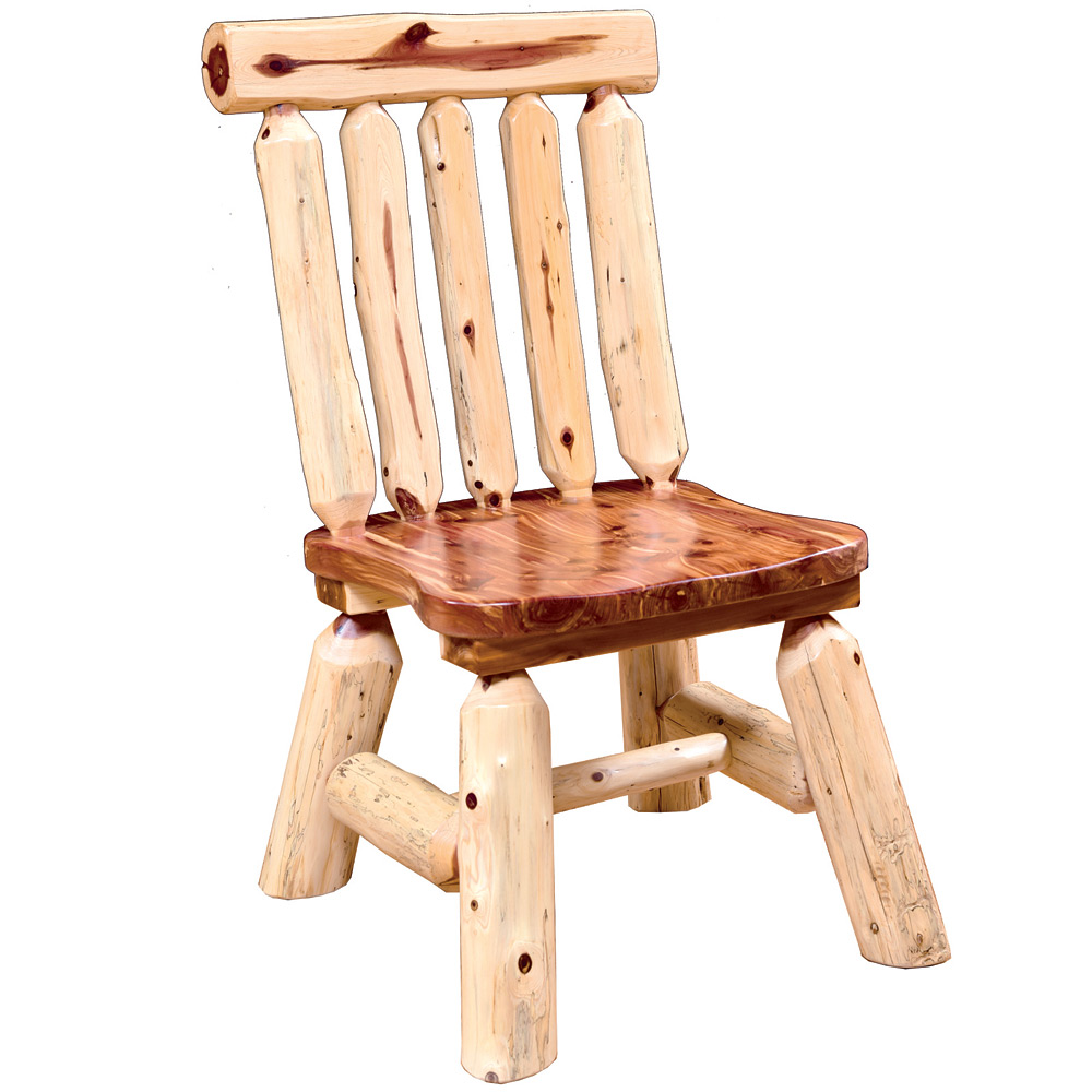Edain Amish Dining Chair Amish Log Furniture Cabinfield Fine Furniture