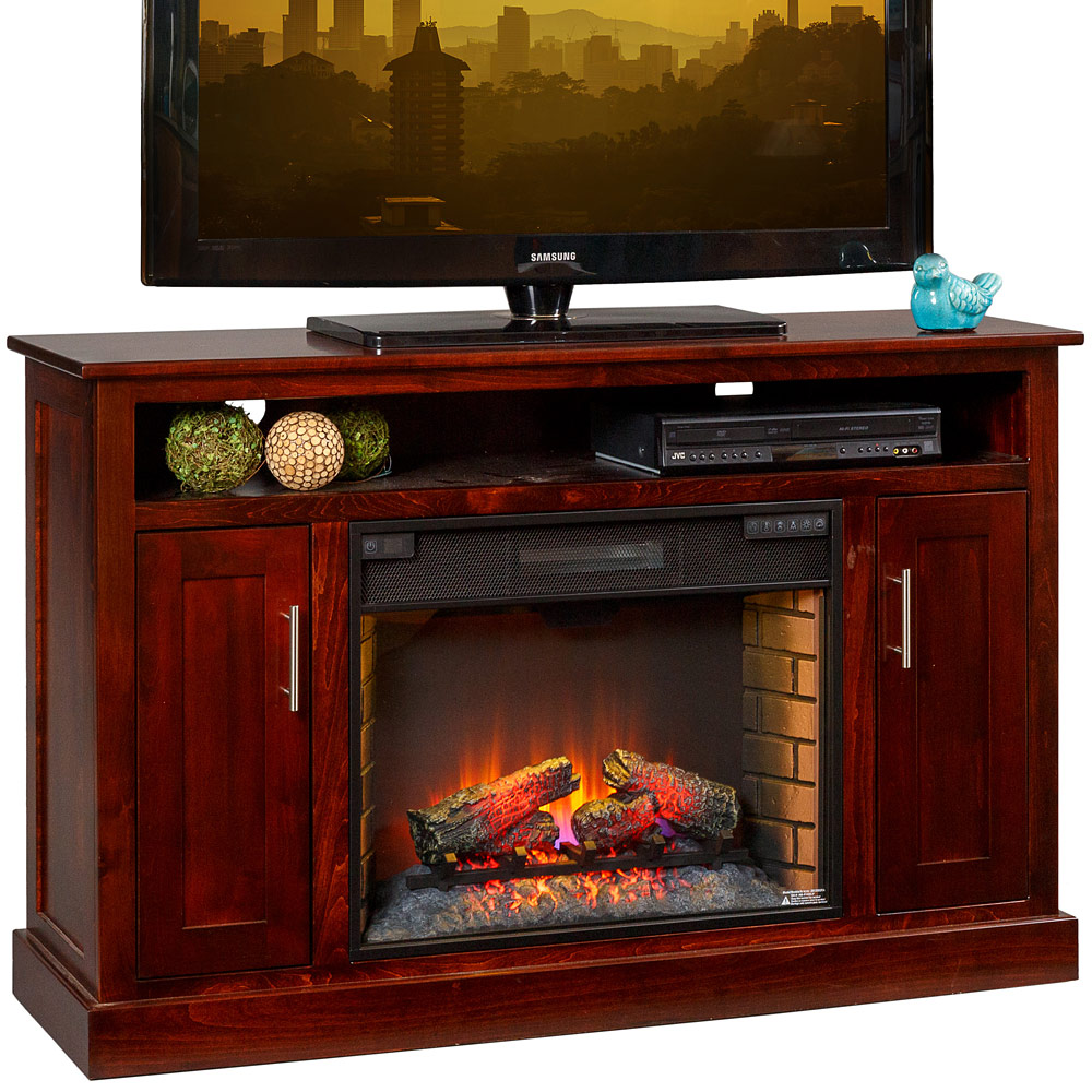 TV Stand With 28 Fireplace