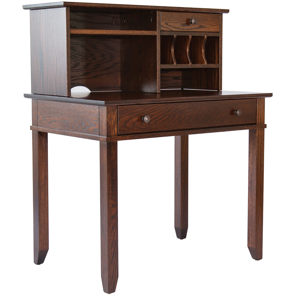 Craftsman Small Amish Desk Amish Office Furniture