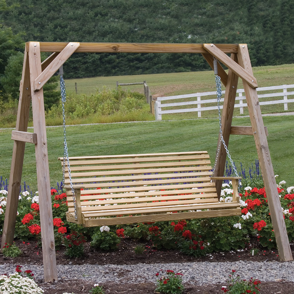 a frame swing stand - Wooden Swing Frame