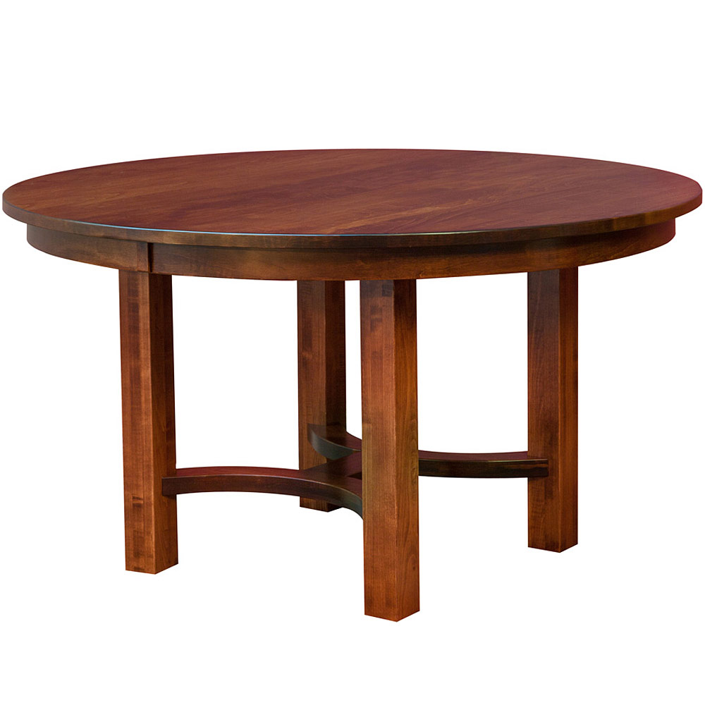 Amish Round Dining Table Small Dining Table Expandable Dining Table Wood Table Mission Style