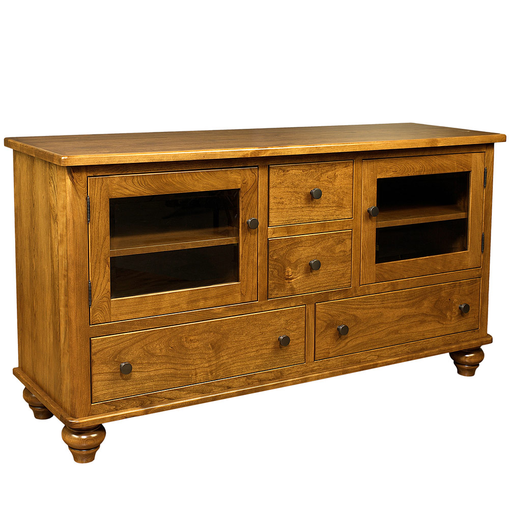 Fairbanks tv cabinet amish tv stands media consoles for Furniture fairbanks