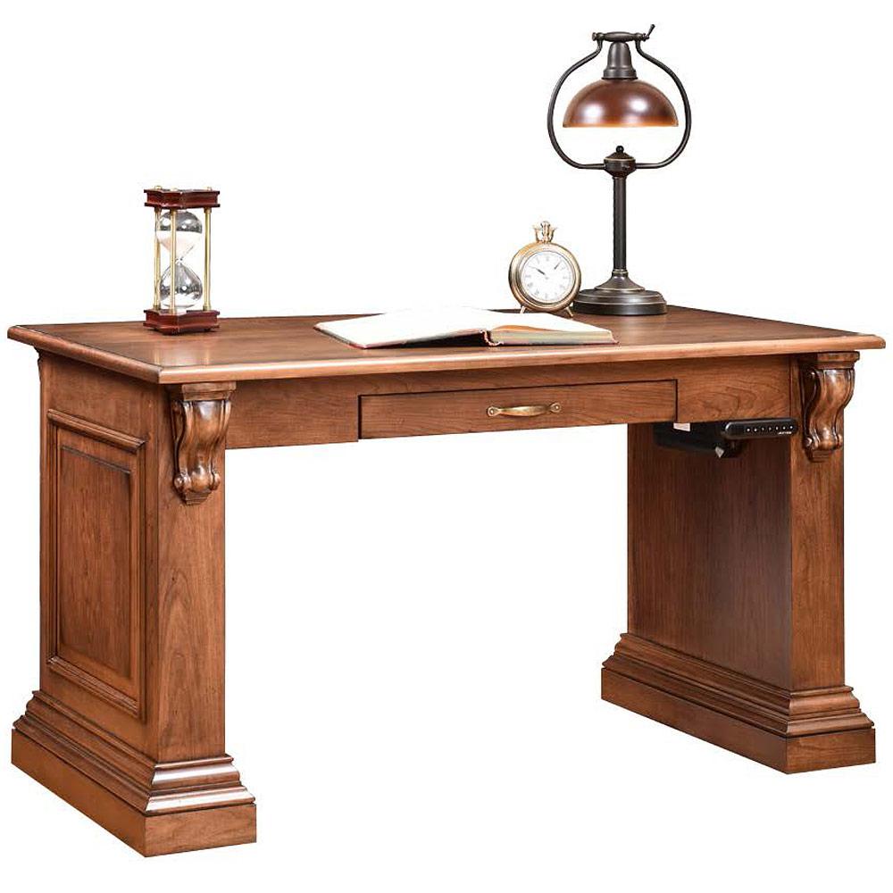 Bradford Amish Desk Optional Electronic Lift Top Cabinfield Fine Furniture