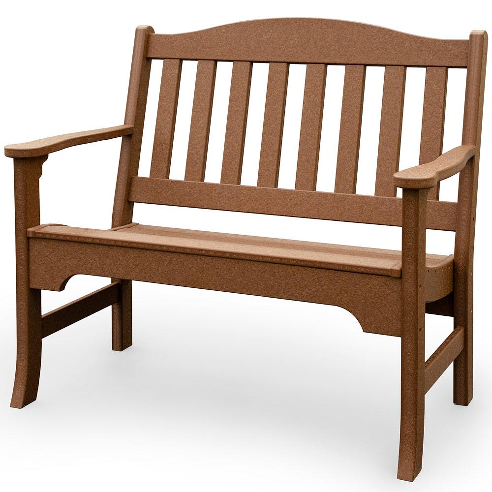 Amish Outdoor Chairs Avonlea Garden Bench Handmade