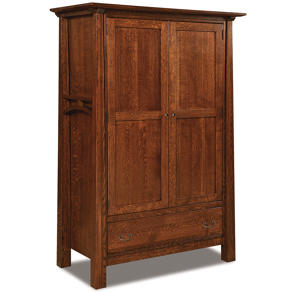Artesa Grand Amish Armoire Amish Bedroom Furniture