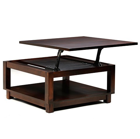 Kirby Lane Lift Top Square Coffee Table
