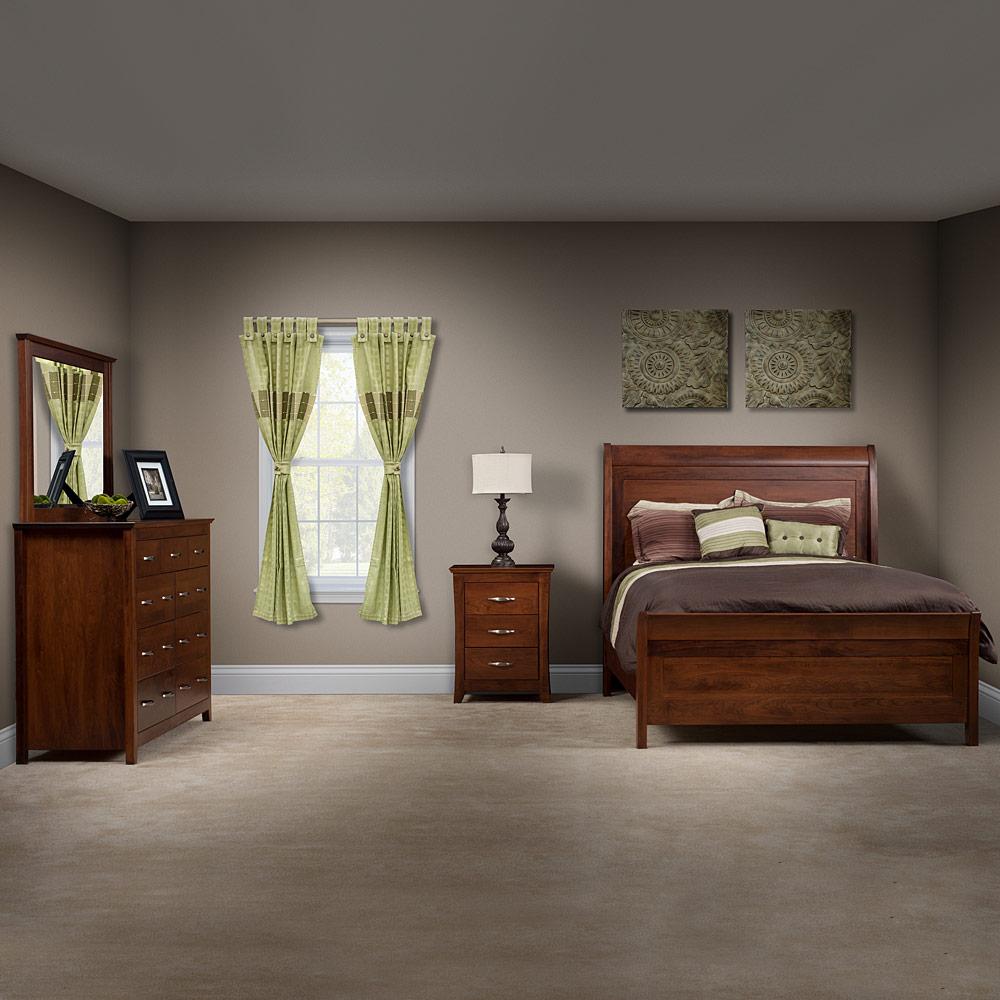 Modern Master Bedroom Set Handcrafted Solid Wood Bedroom Furniture Set Hartfield