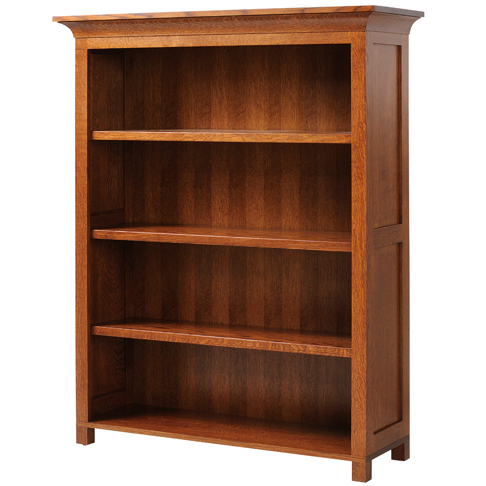 in finished with drawers amish bookcase sam by vintage handcrafted foot bookcases creations