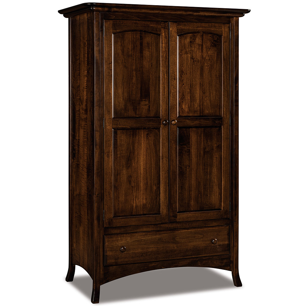 Armoire Wardrobe Tall Armoire Closet Solid Wood Handcrafted Bedroom Wardrobe Furniture