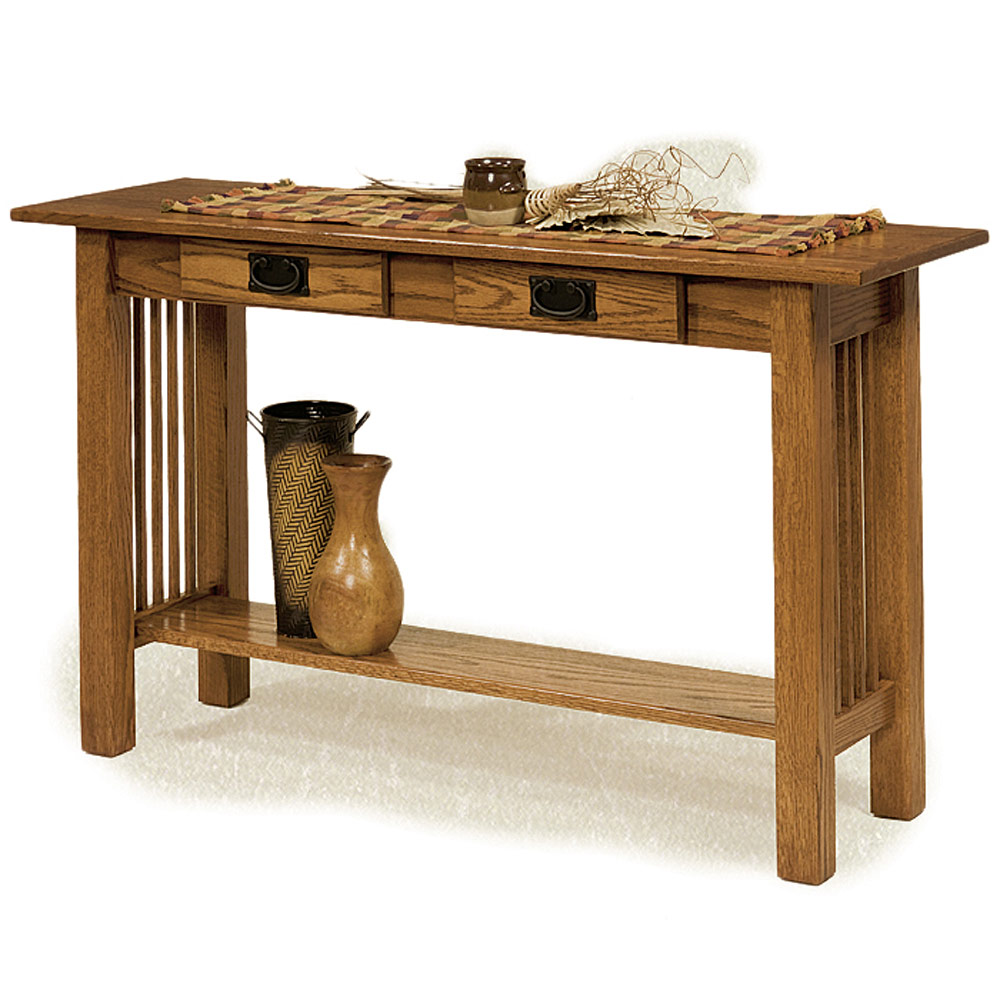 Sofa Table Amish Solid Wood Console