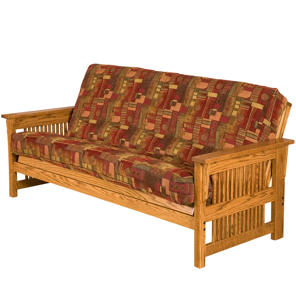 Collection sofa love seat chair ottoman coffee table end table - Futon Bed Sleeper Sofa Bed With Futon Mattress Amish