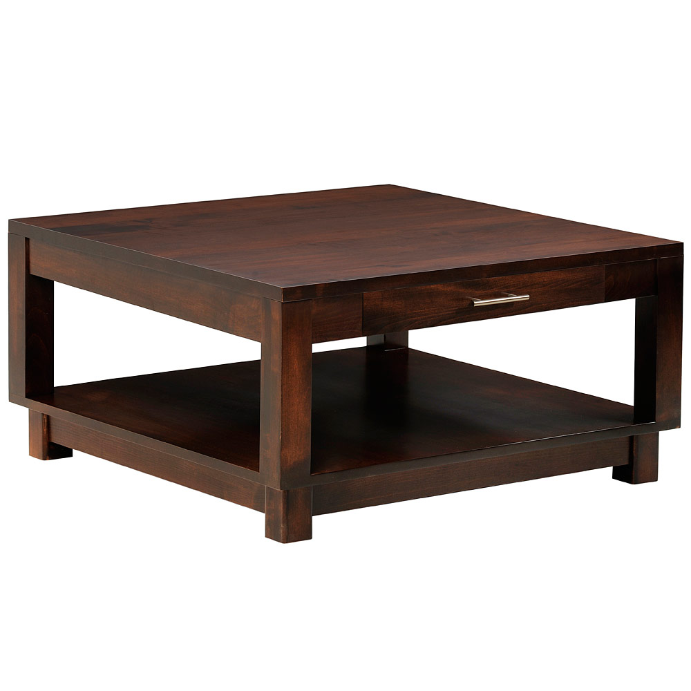 Square coffee table wooden coffee table coffee table for Table urbana but