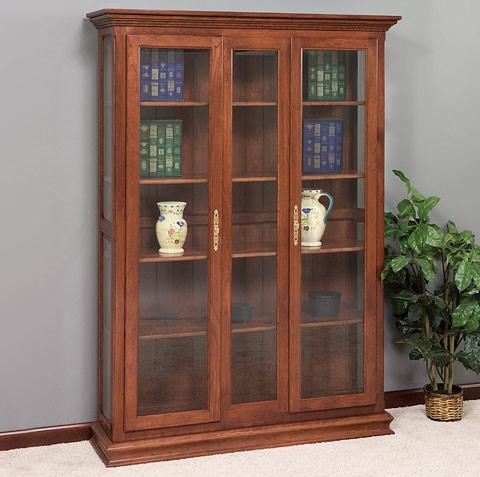 Marcus 52 Adjustable 4 Shelf Executive Bookcase Amish